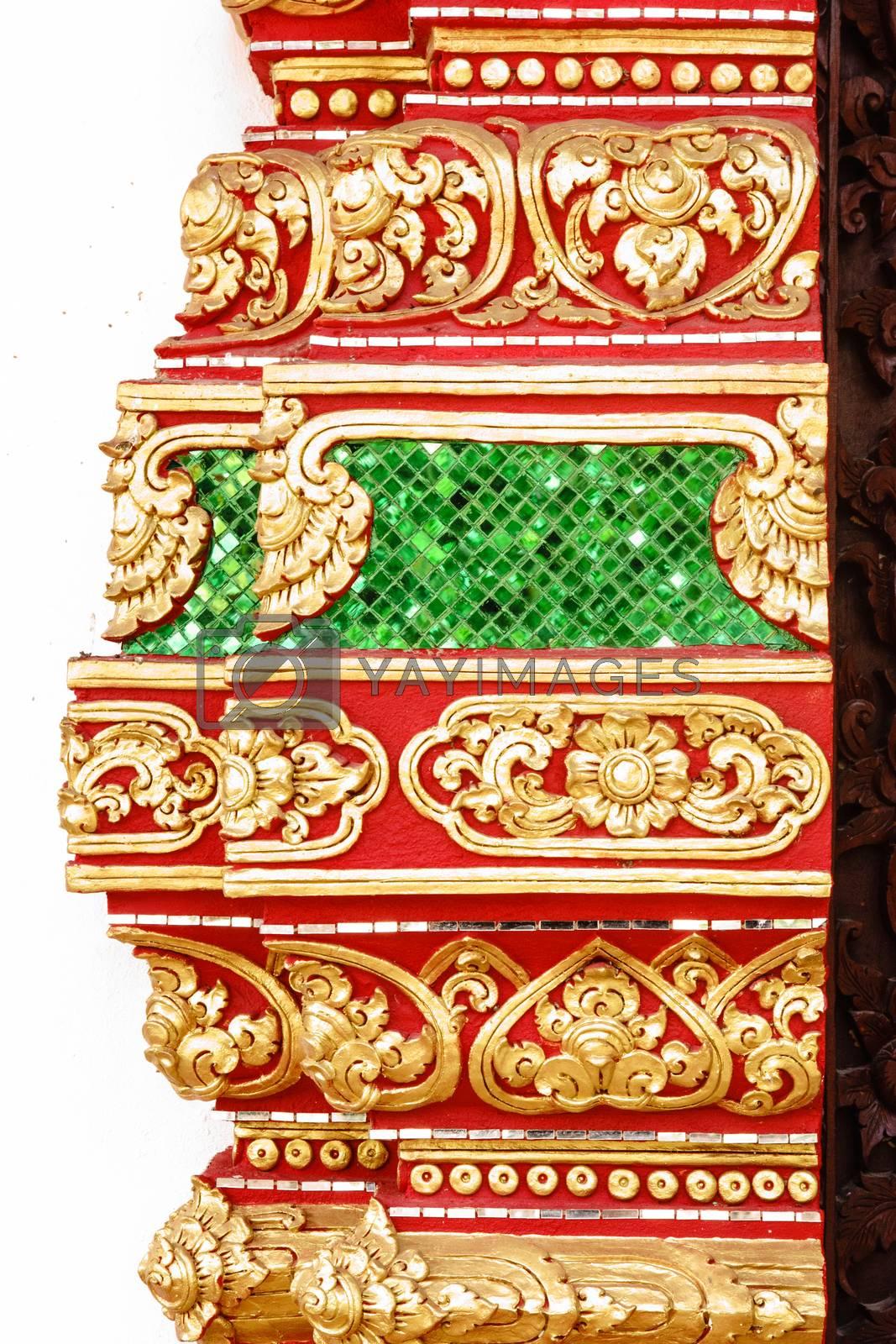 Royalty free image of thai art by nattapatt
