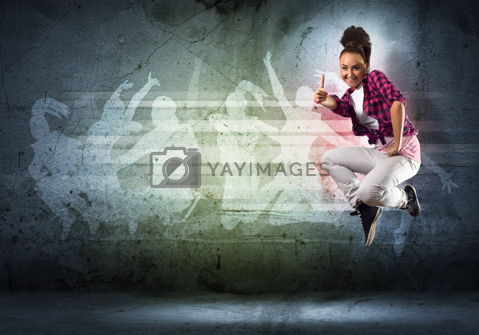 Royalty free image of dancer by adam121