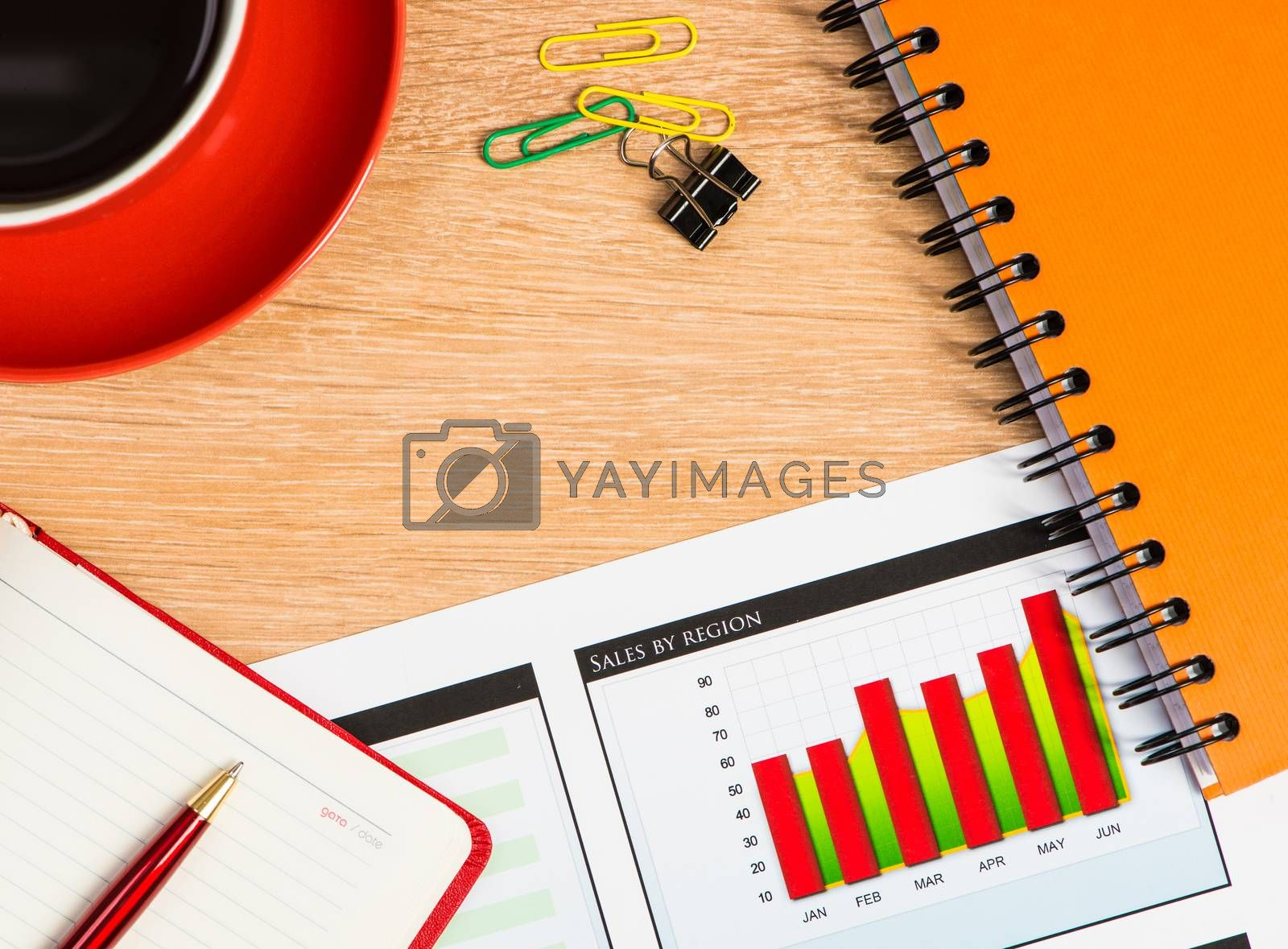 Royalty free image of business still life by adam121