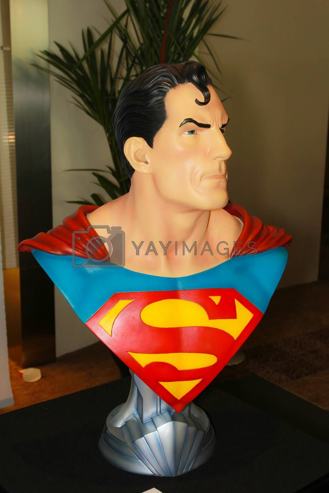 Royalty free image of A model of the character Superman from the movies and comics 2 by redthirteen