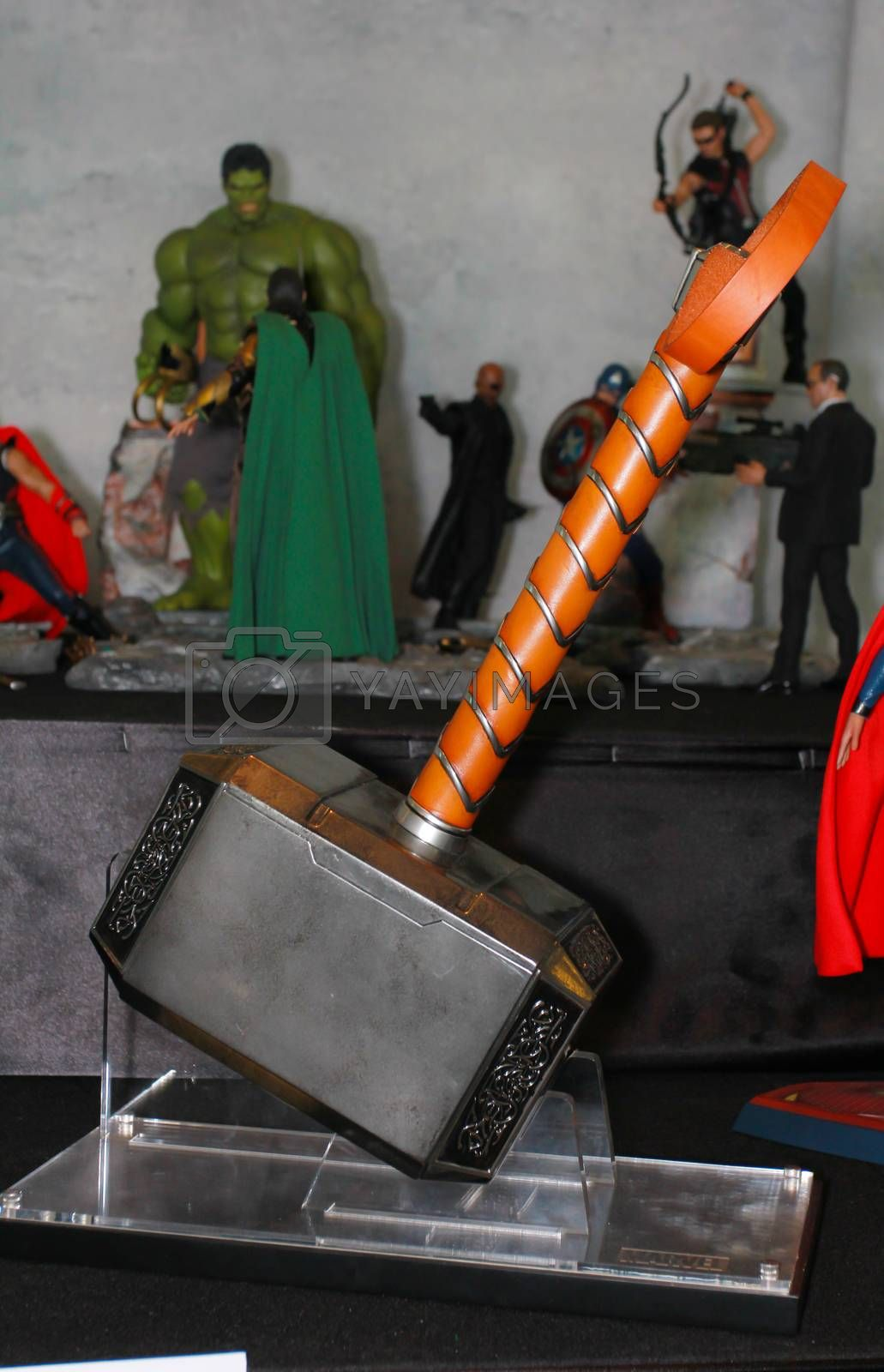 Royalty free image of A model of the Thor Hammer from the movies and comics 2 by redthirteen