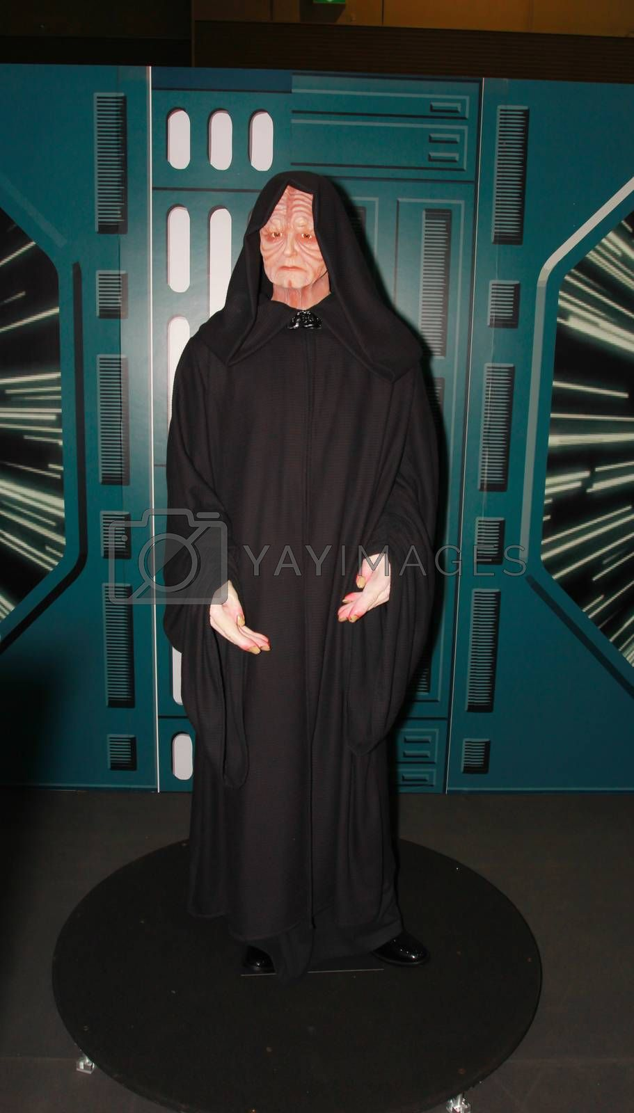 Royalty free image of A model of the character Emperor Palpatine from the movies and comic by redthirteen