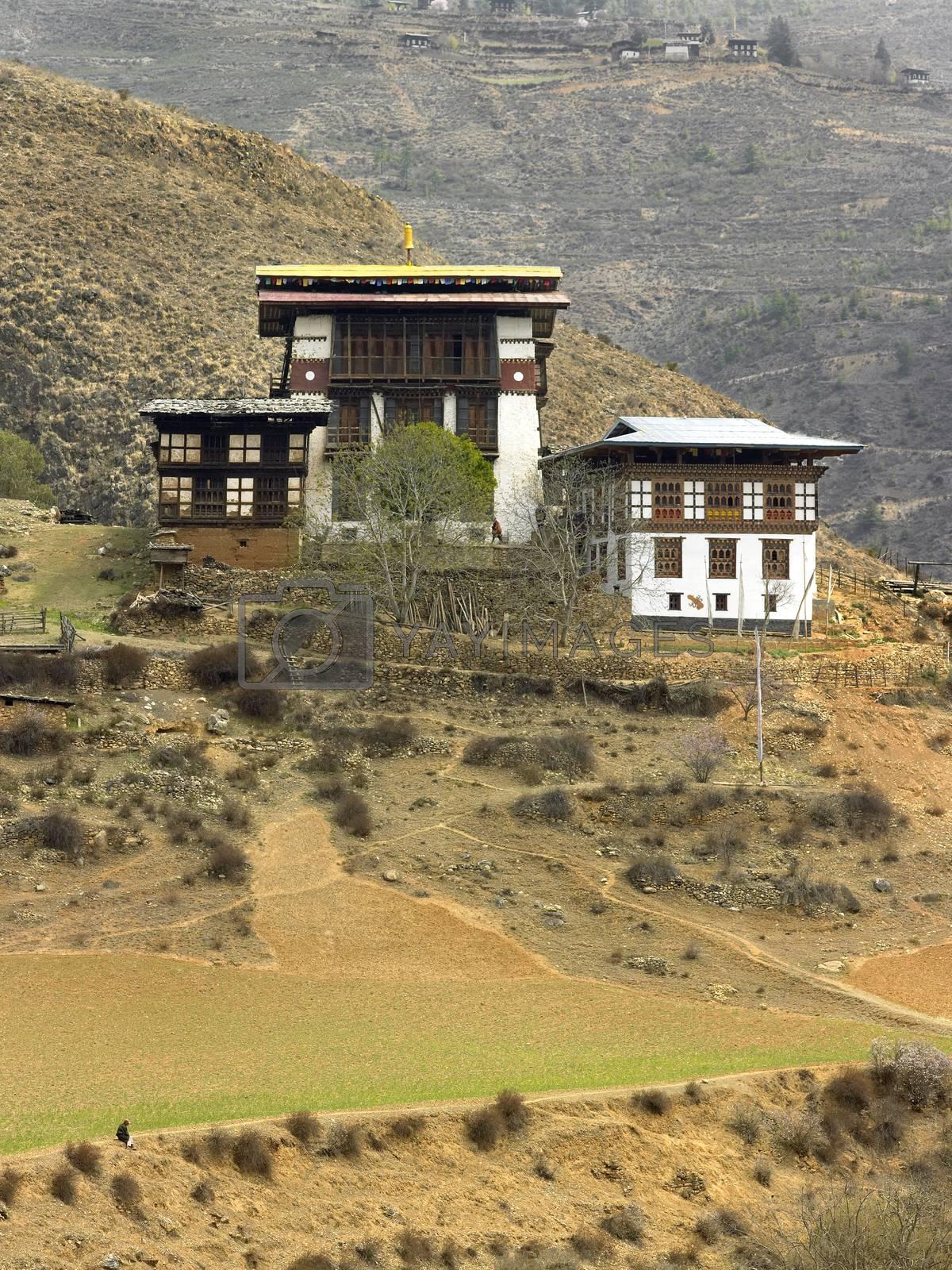 Royalty free image of Kingdom of Bhutan by SteveAllenPhoto
