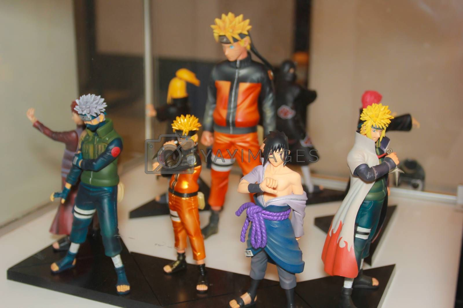 Royalty free image of A model of the character Naruto from the movies and comics 2 by redthirteen