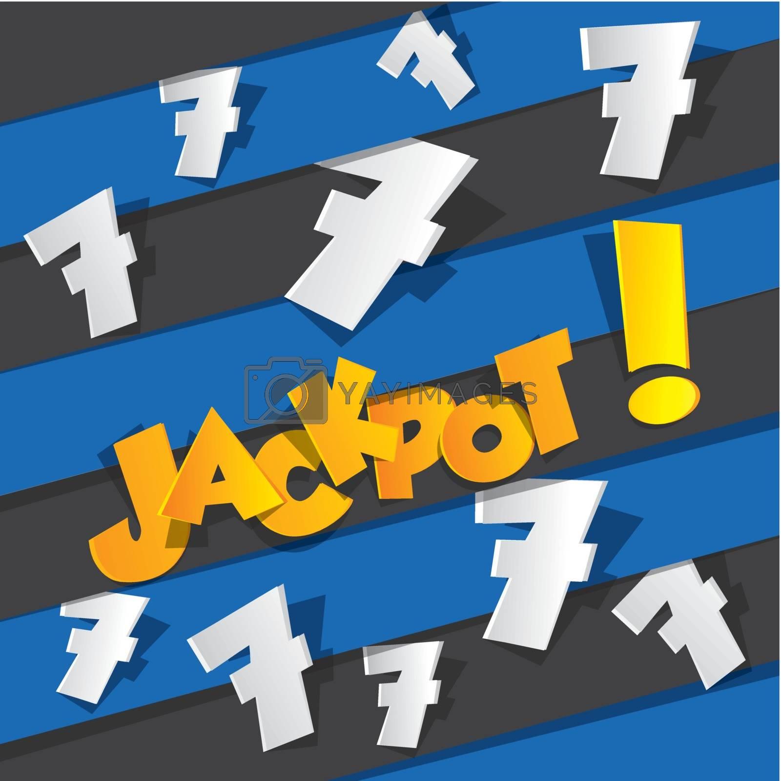 Royalty free image of Bingo, Jackpot symbol by nicousnake