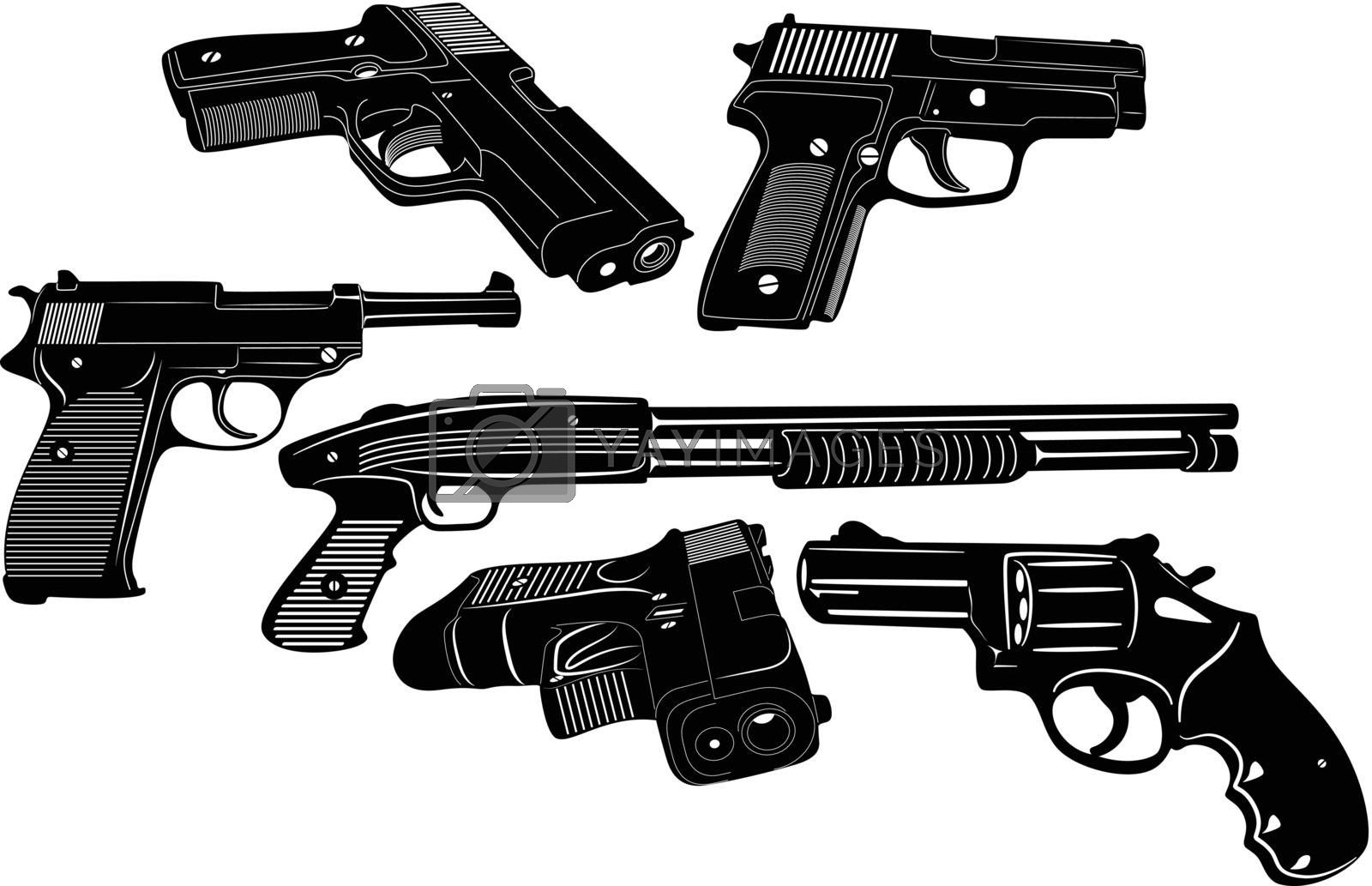 gun silhouette royalty free stock image stock photos royalty free images vectors footage yayimages https www yayimages com 13521476 gun silhouette html