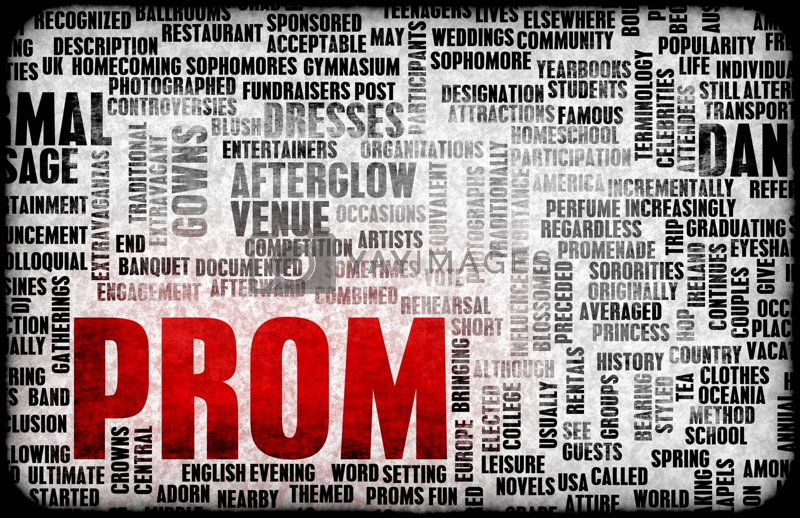 Royalty free image of Prom by kentoh