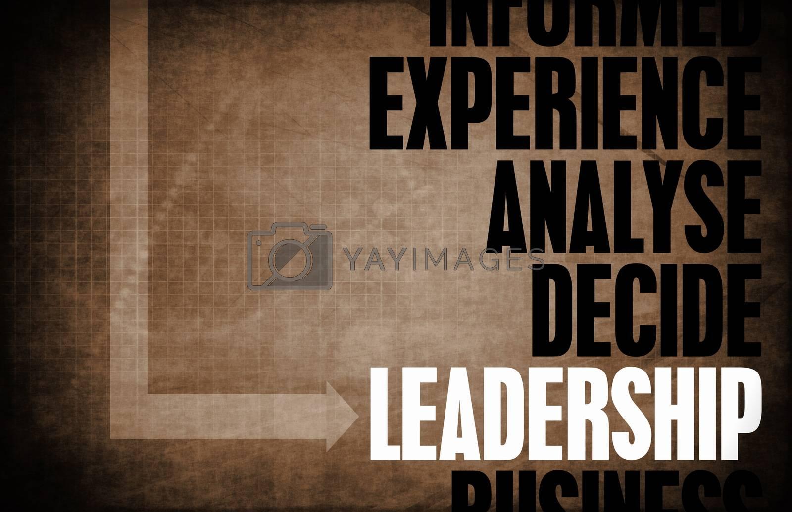 Royalty free image of Leadership by kentoh