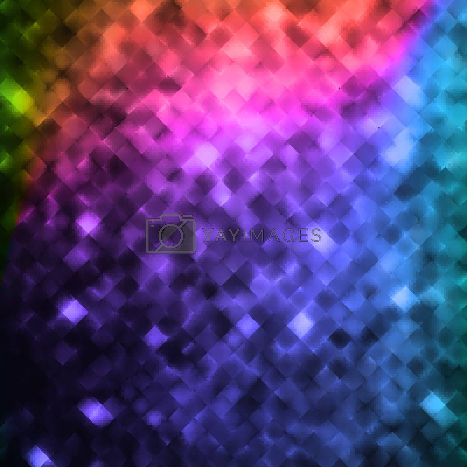 Glitters on a soft blurred background with smooth highlights. EPS 10 vector file included
