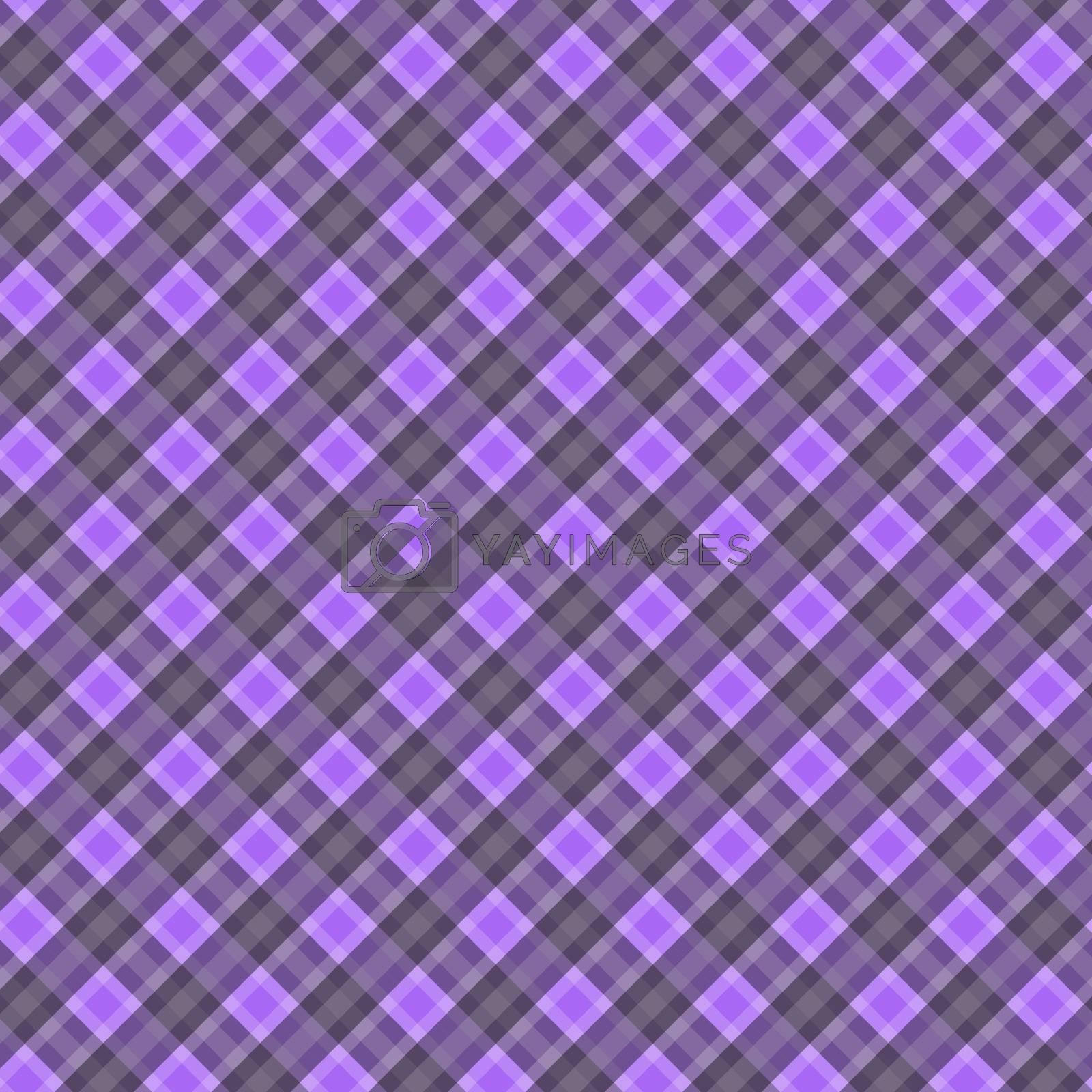 Seamless cross violet-grey diagonal pattern, vector illustration