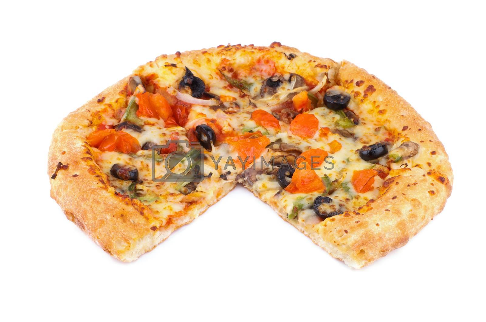 Vegetarian Pizza by zhekos