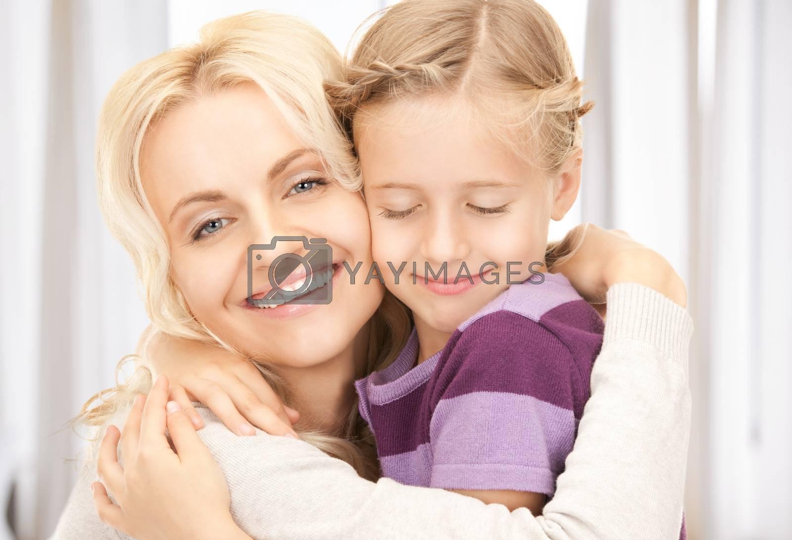 happy mother and child by dolgachov