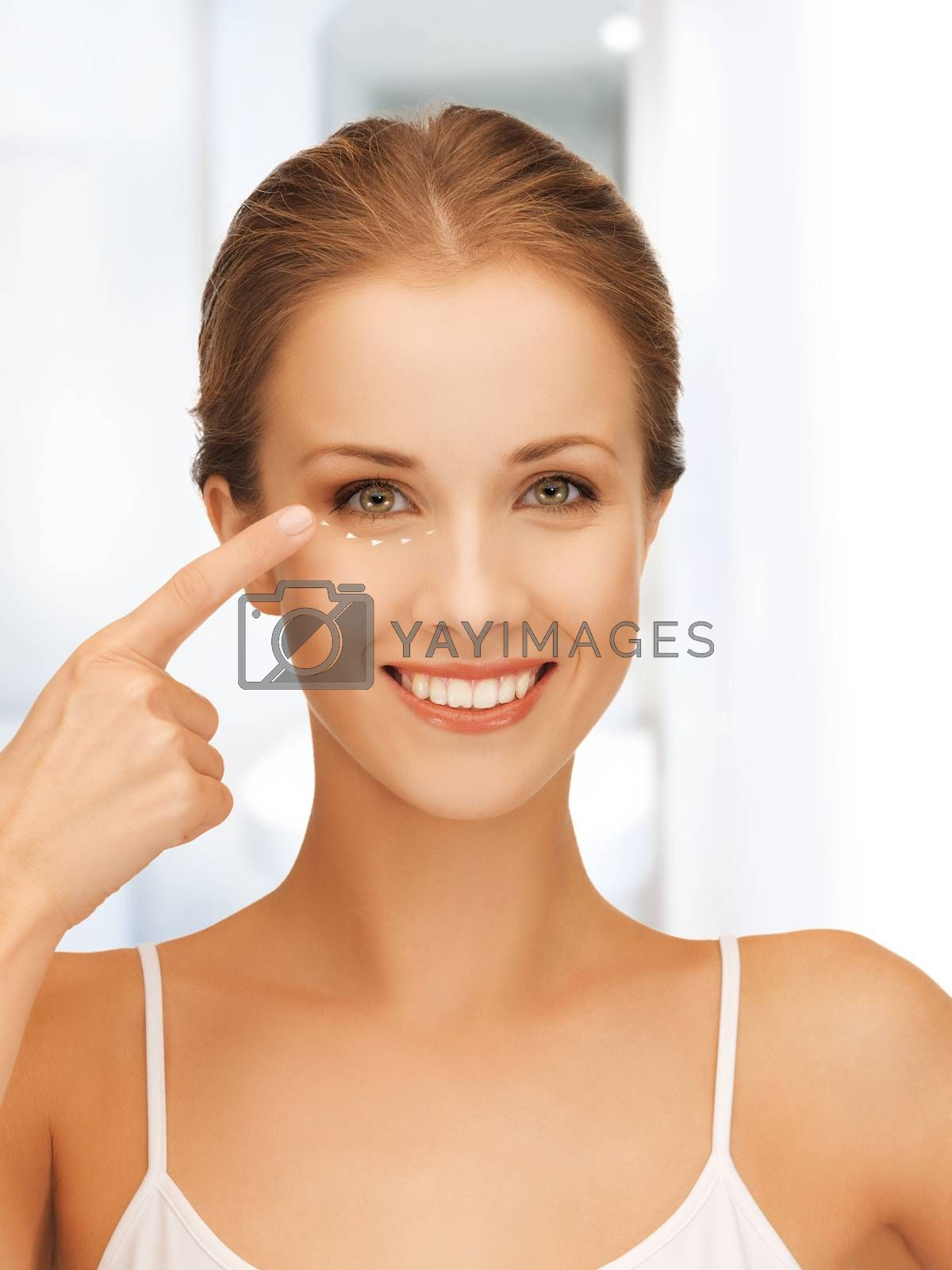woman ready for cosmetic surgery by dolgachov