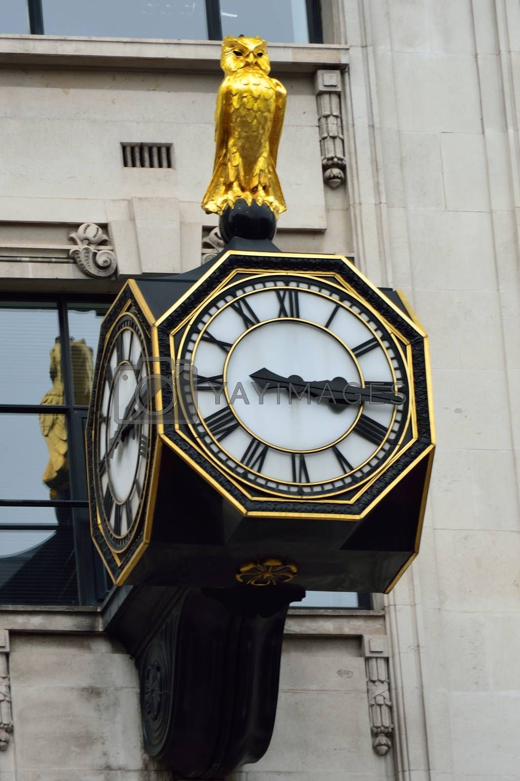Close up of city clock by pauws99