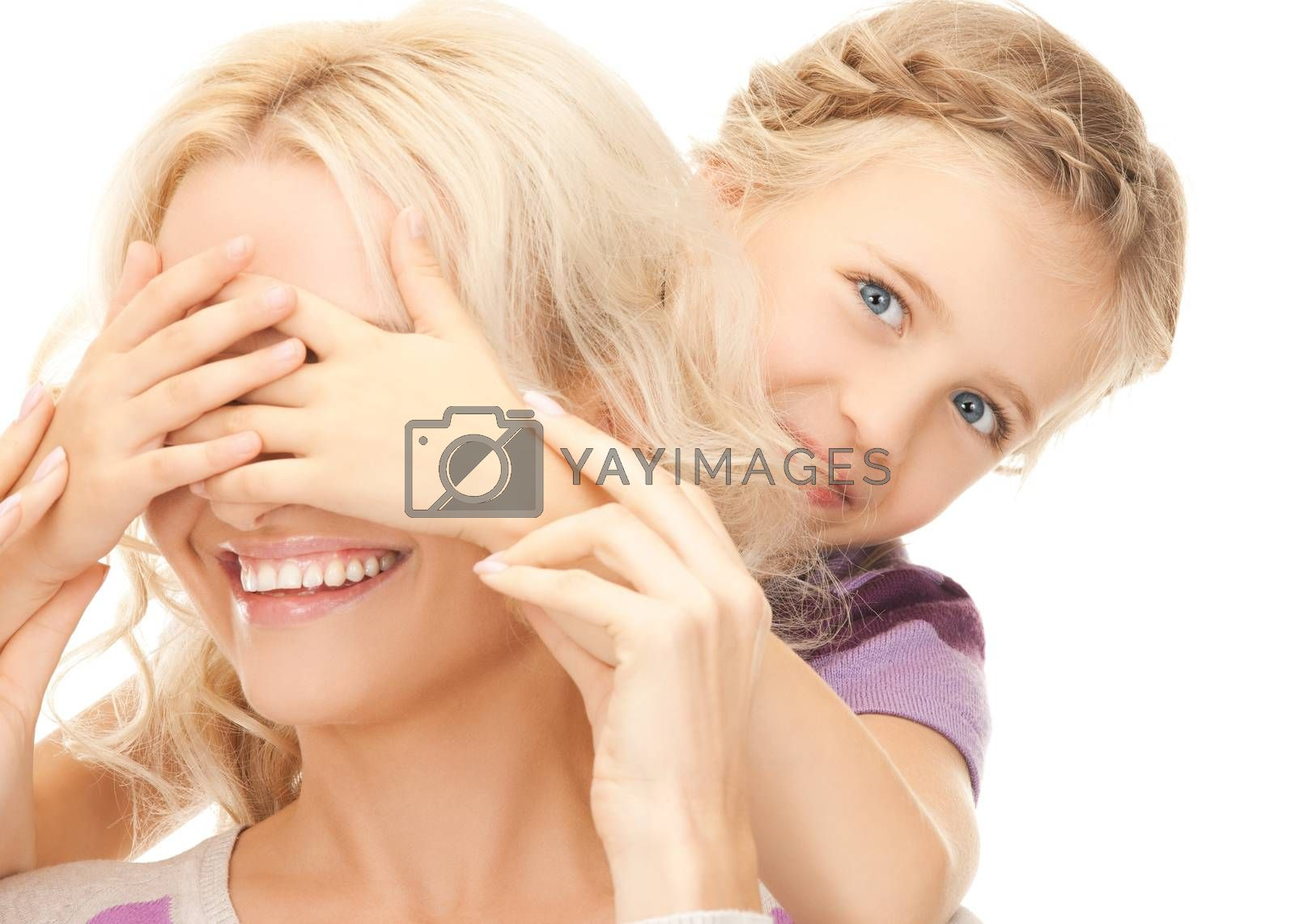 mother and daughter by dolgachov