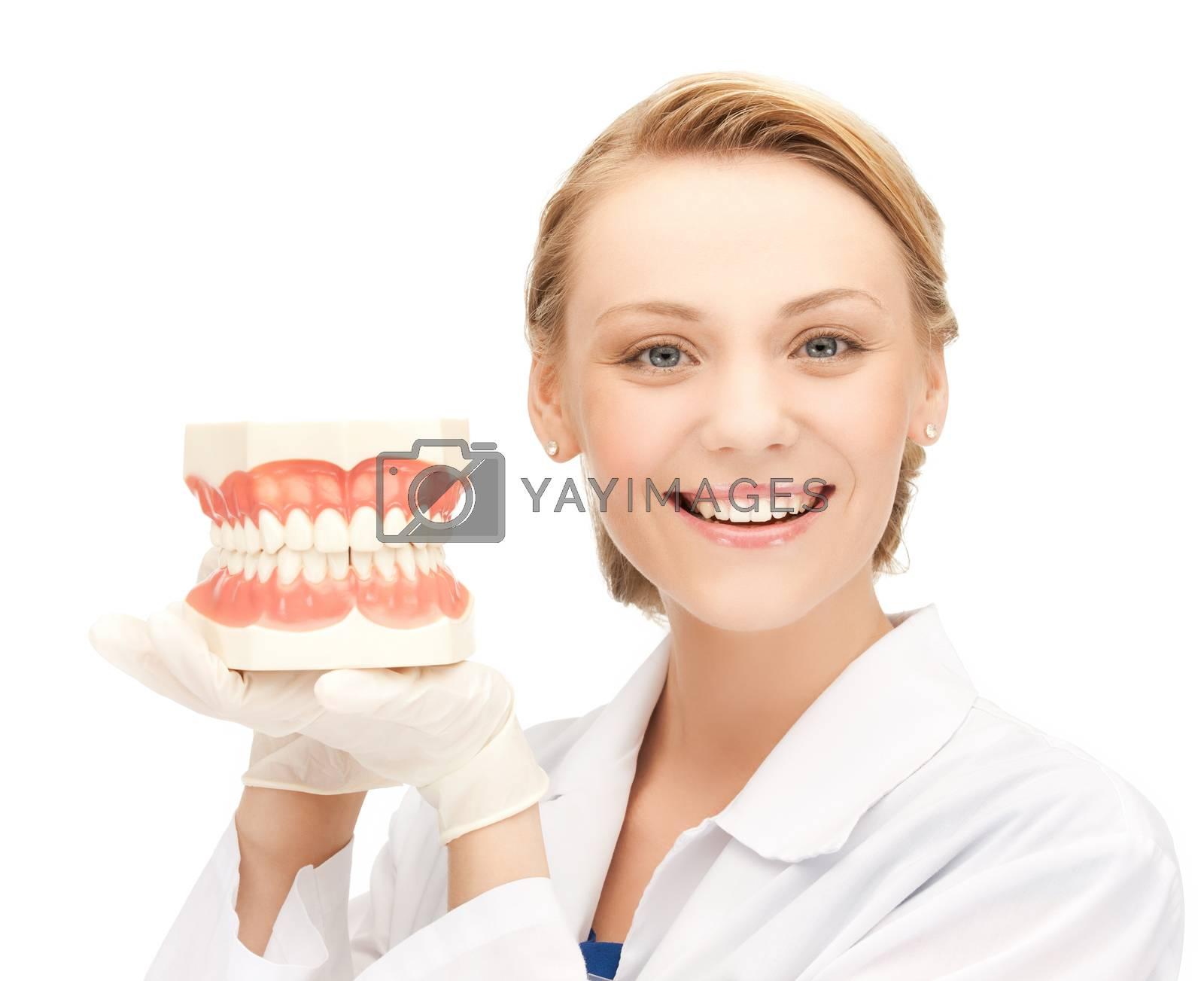 doctor with big jaws by dolgachov