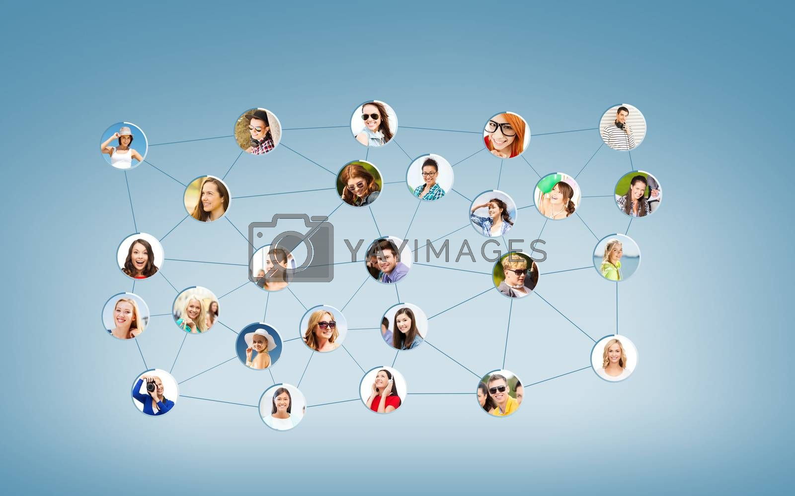 social network by dolgachov