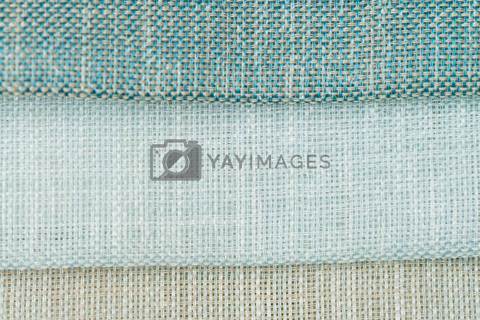 Royalty free image of Green fabric texture by homydesign