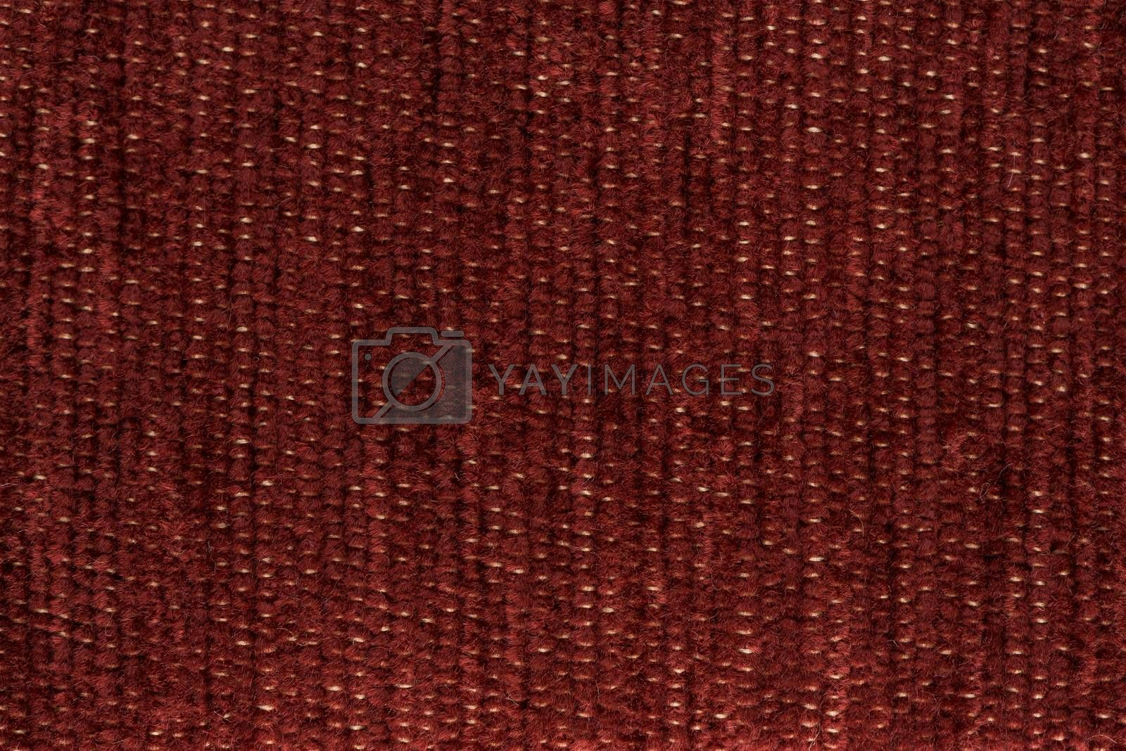 Royalty free image of Red fabric by homydesign
