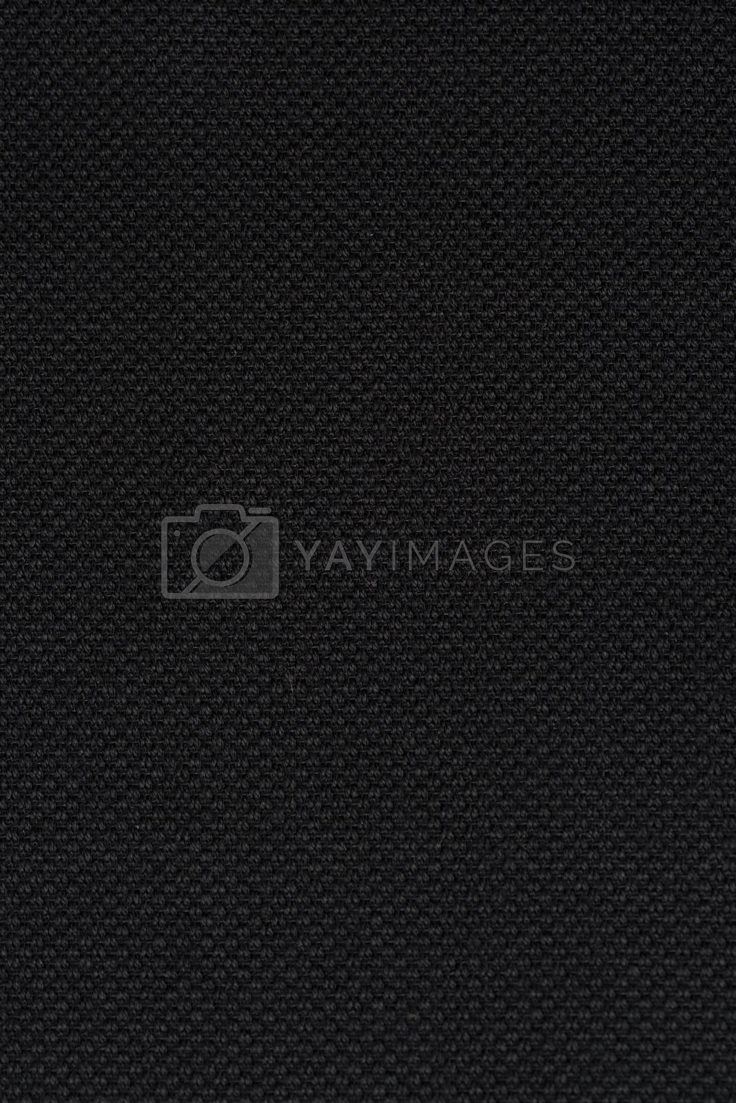 Royalty free image of Black fabric by homydesign