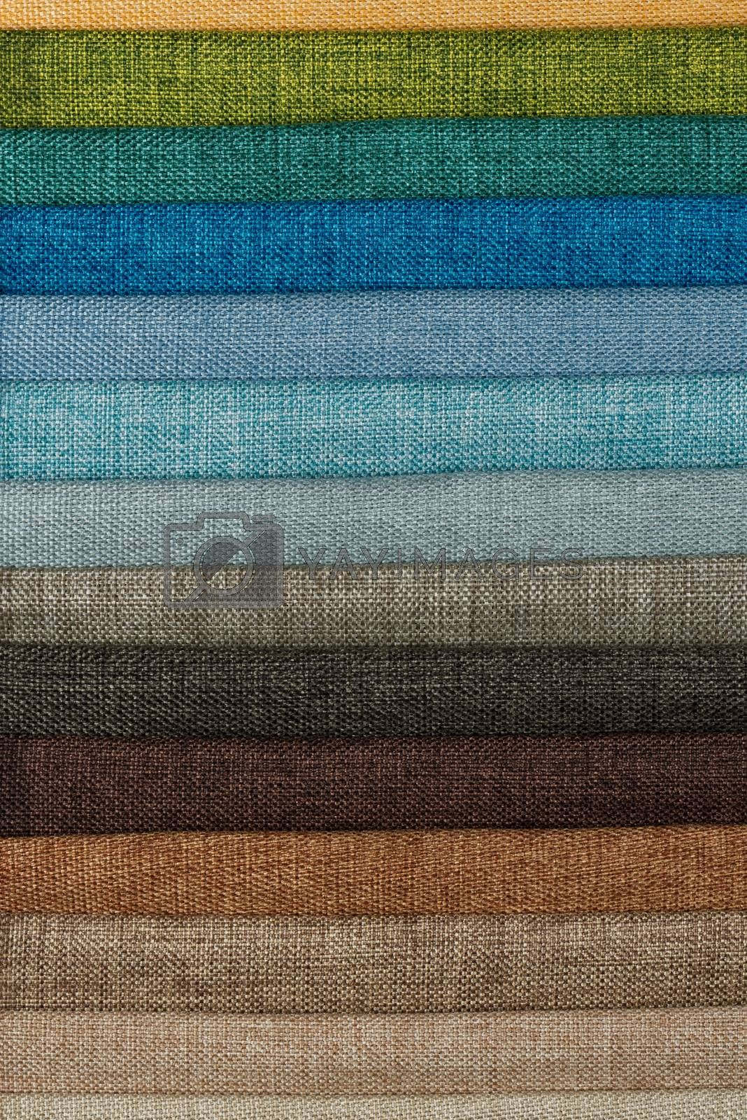 Royalty free image of Fabric samples by homydesign