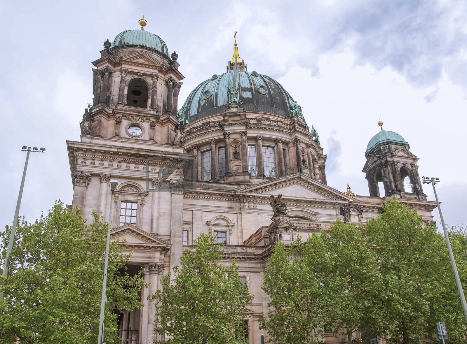 Royalty free image of Berliner Dom by claudiodivizia