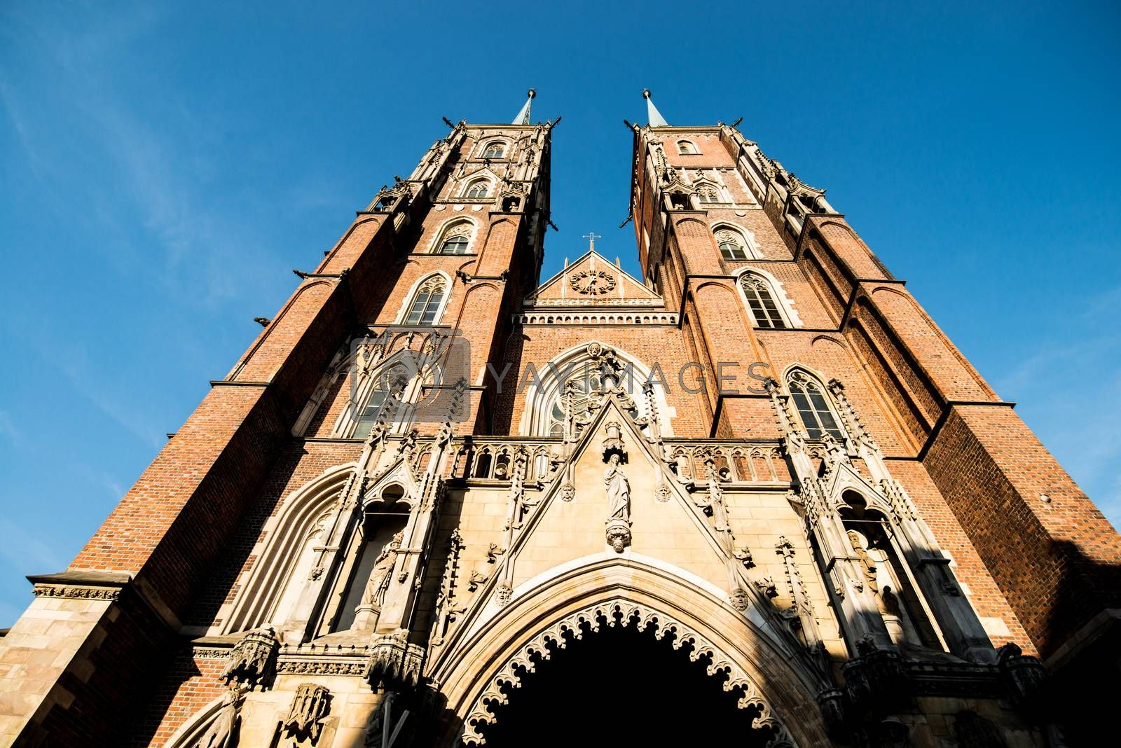 Royalty free image of Cathedral of St. John by GekaSkr