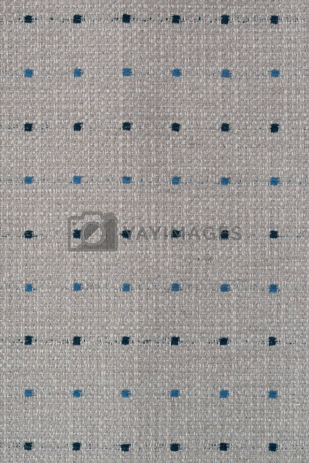 Royalty free image of Grey fabric texture  by homydesign