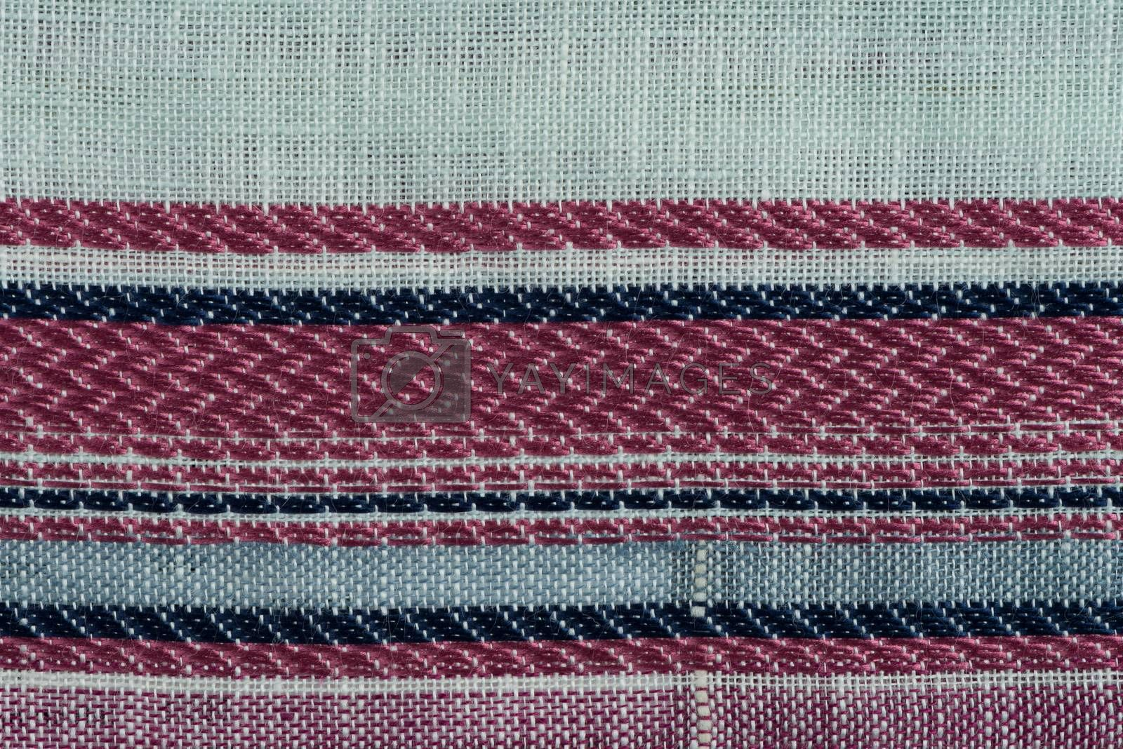 Royalty free image of Multi color fabric texture samples by homydesign