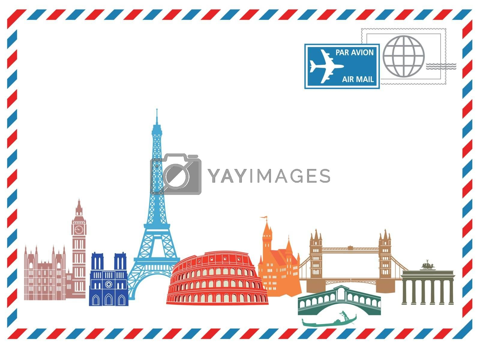 Royalty free image of Travel and Write by scusi