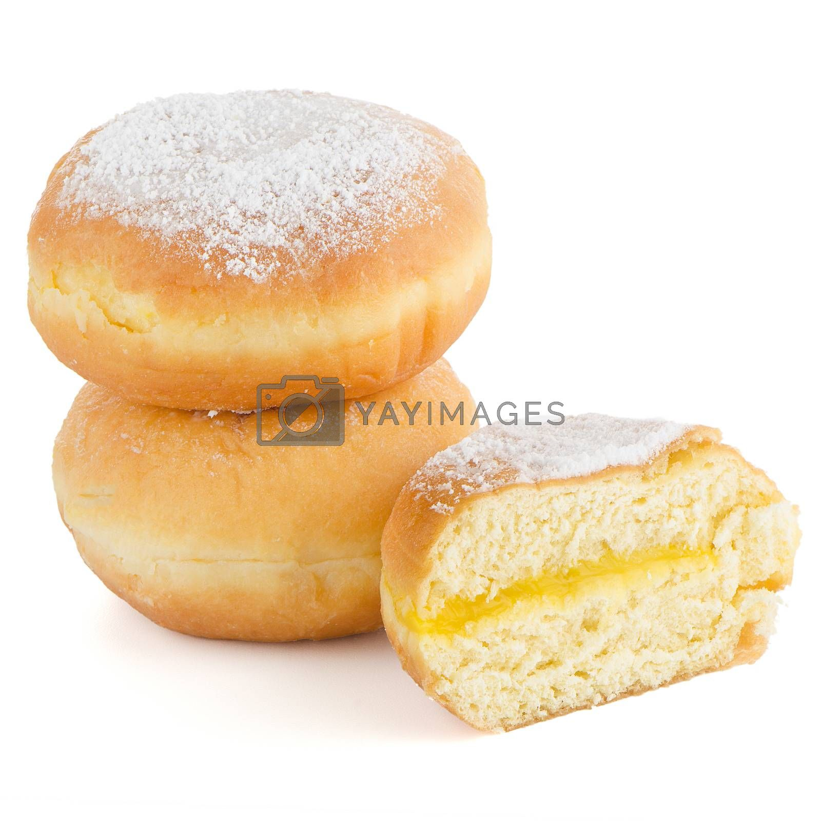 Royalty free image of Tasty donuts by homydesign