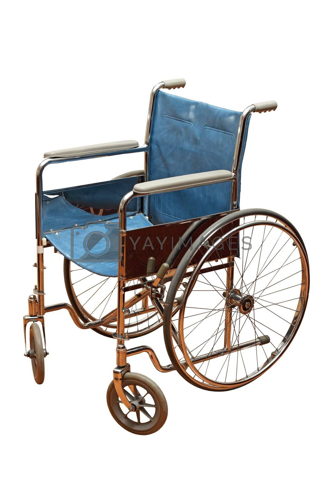 Royalty free image of old wheel chair by taviphoto