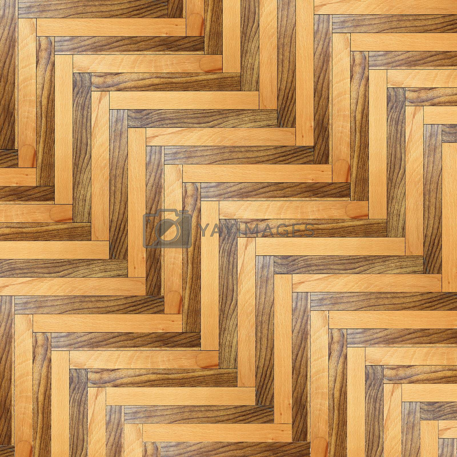 Royalty free image of striped model of wood floor by taviphoto