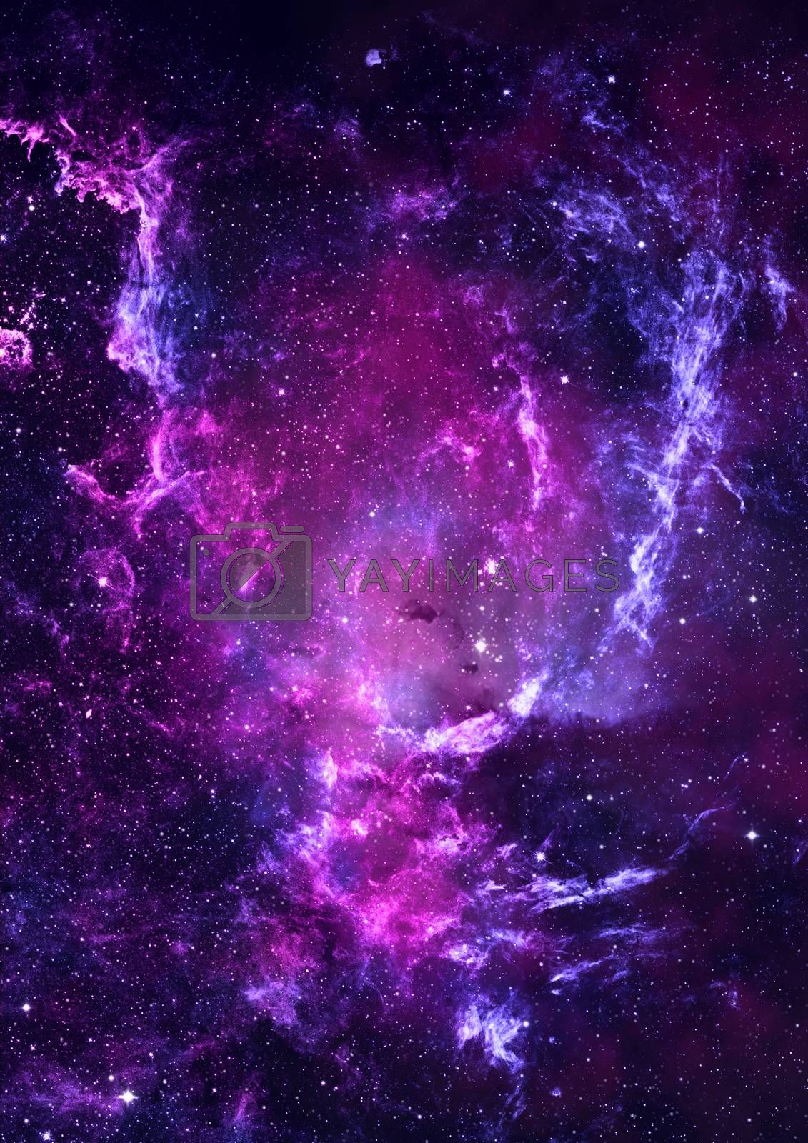 Royalty free image of Being shone nebula by richter1910