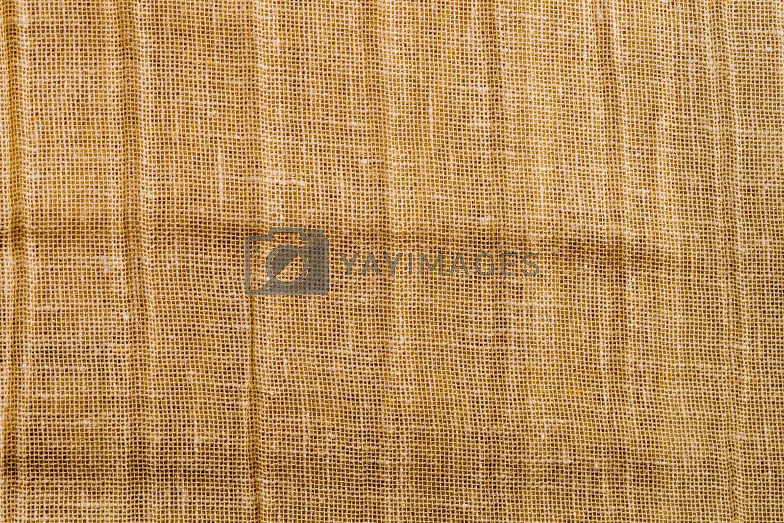 Royalty free image of Brown fabric by homydesign