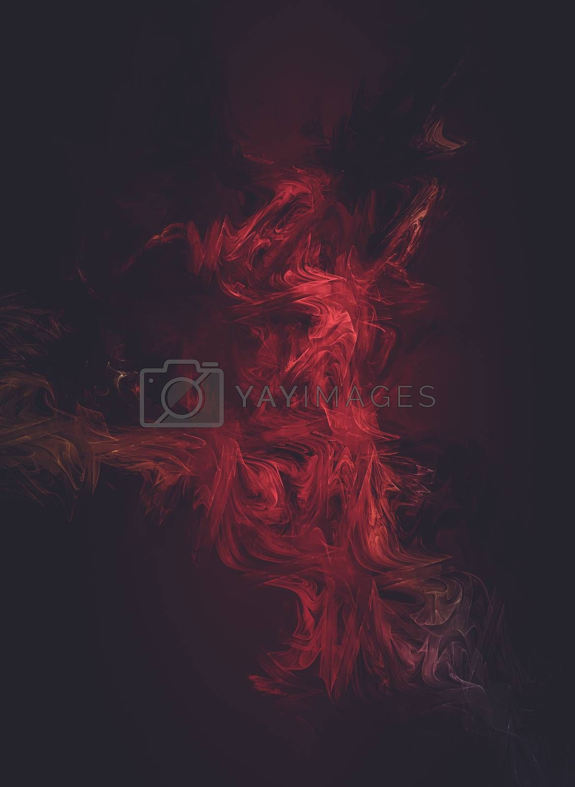 Mesh, Creative design background, fractal styles with color desi by FernandoCortes