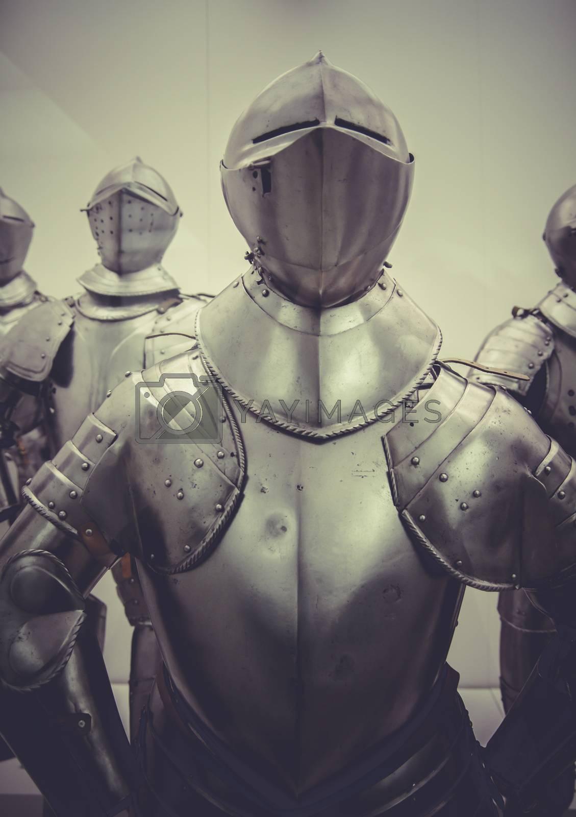 Military medieval iron armor, Spanish armada