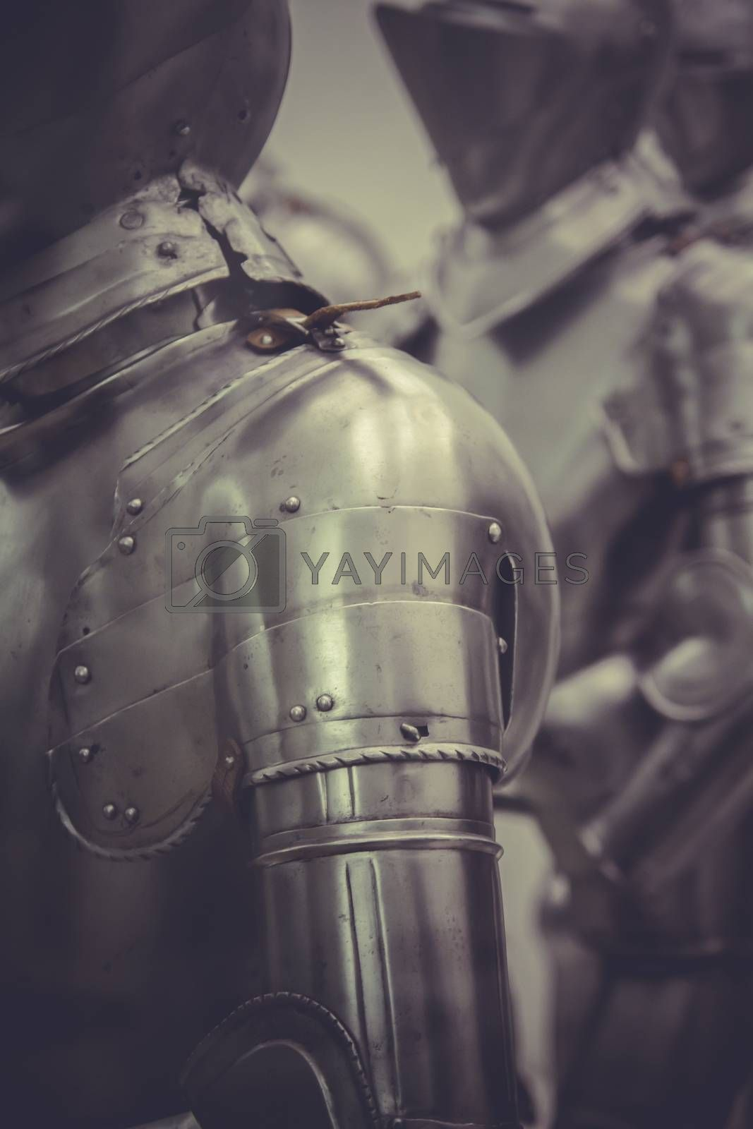 Protection, Medieval iron armor, Spanish armada