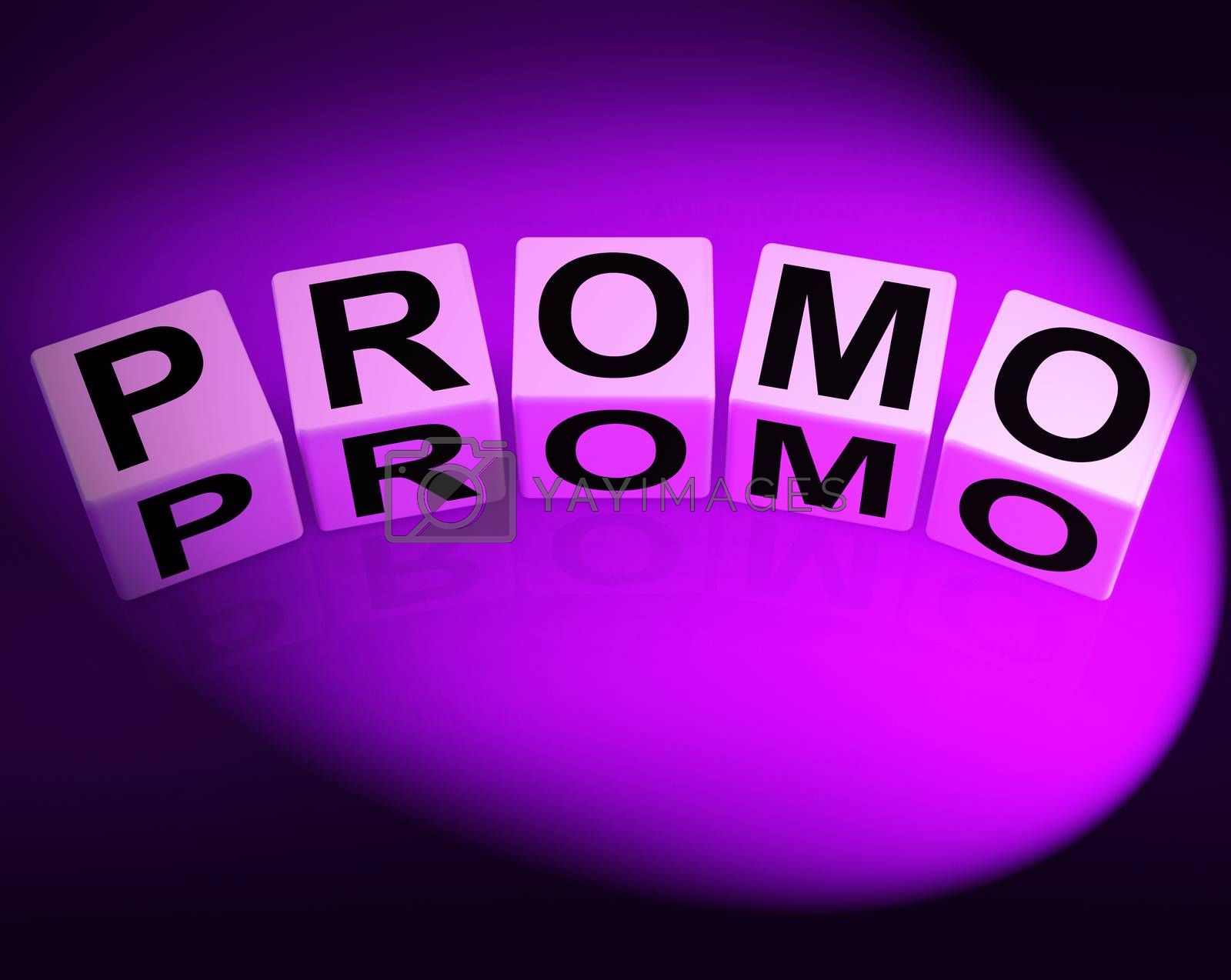 Promo Dice Show Advertisement and Broadcasting Promotions by stuartmiles