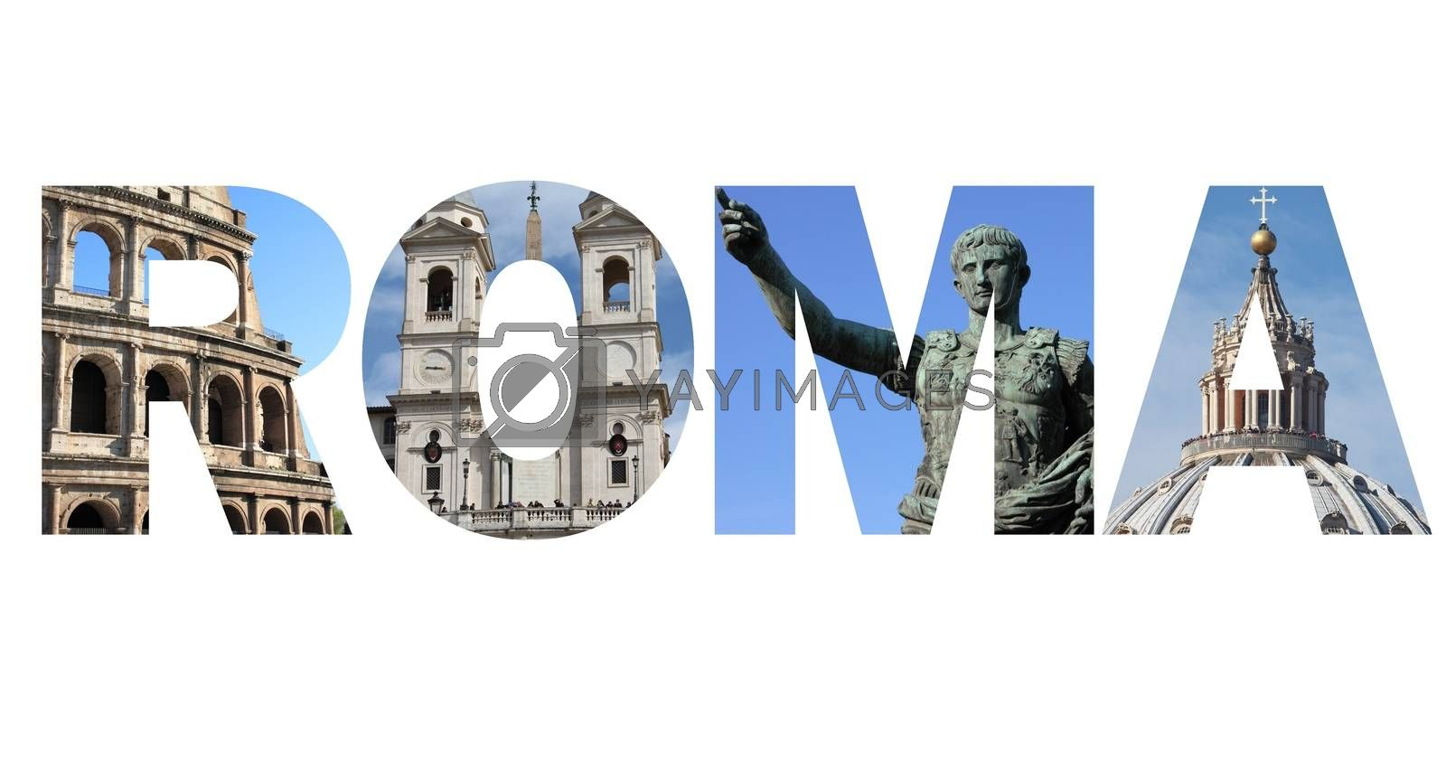 Rome text by alessandro0770