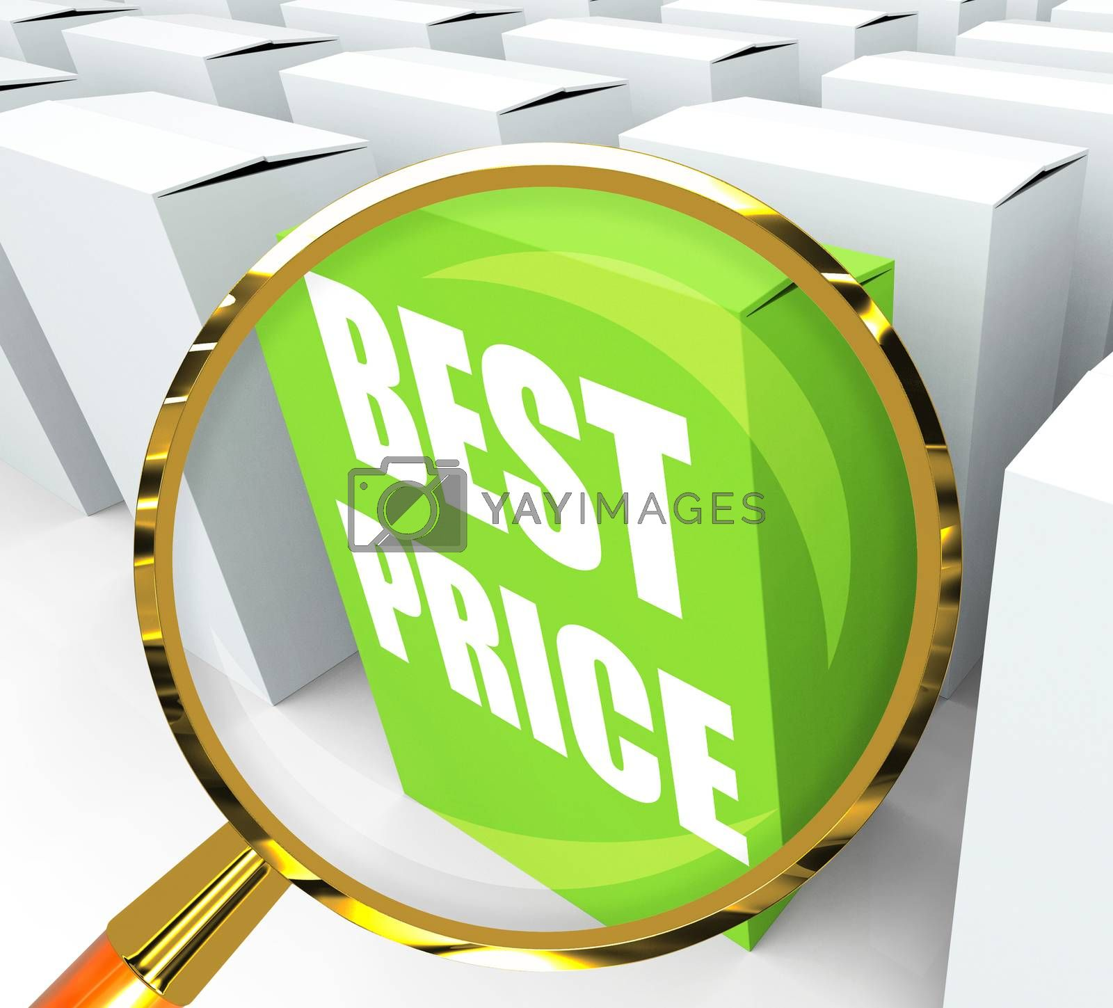 Best Price Packet Represents Bargains and Discounts by stuartmiles
