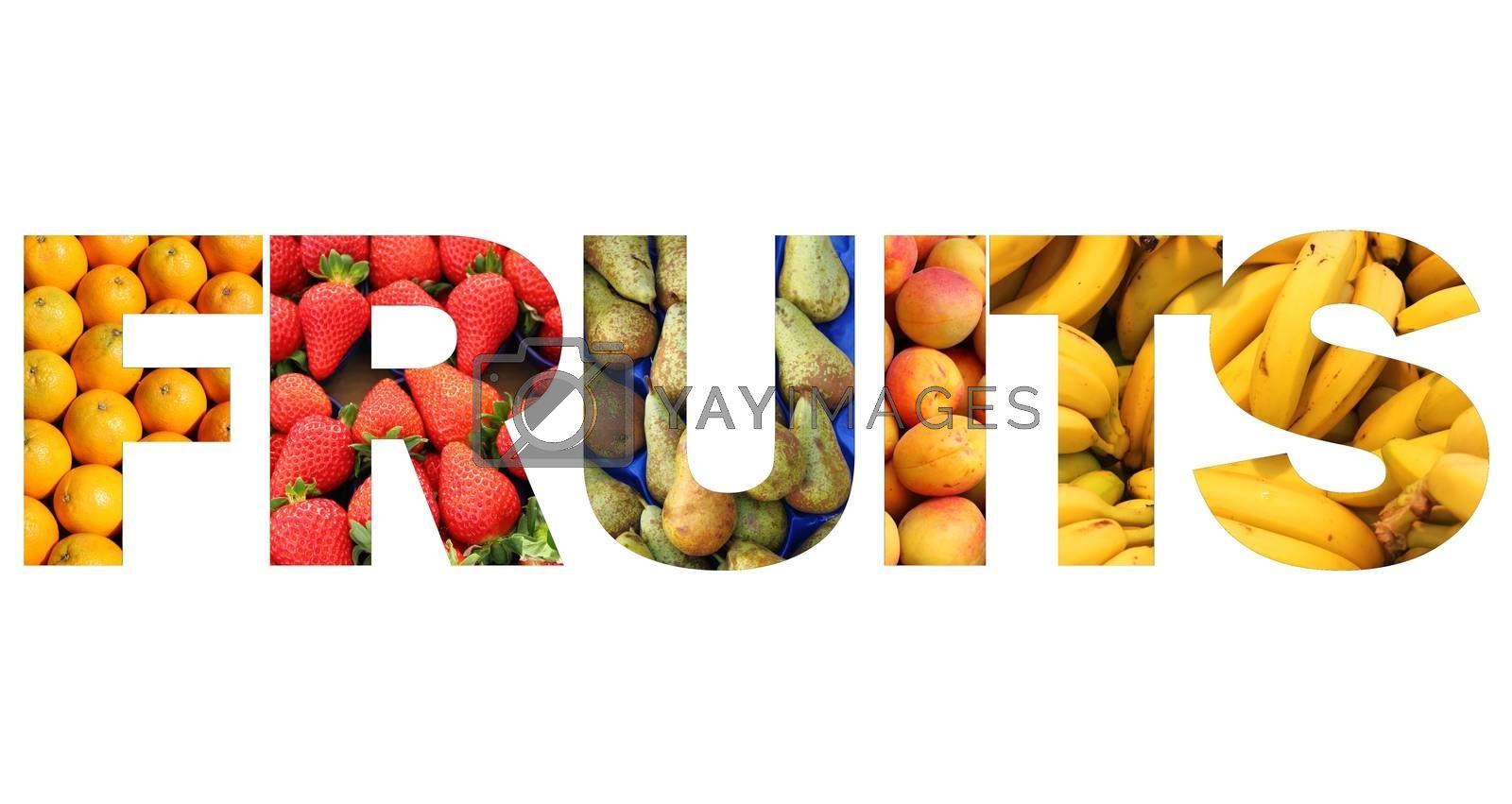 Fruits text by alessandro0770
