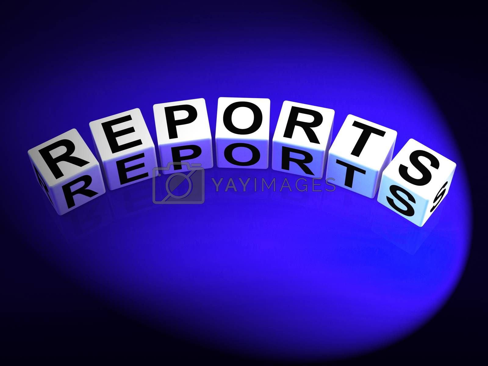 Reports Dice Represent Reported Information or Articles by stuartmiles