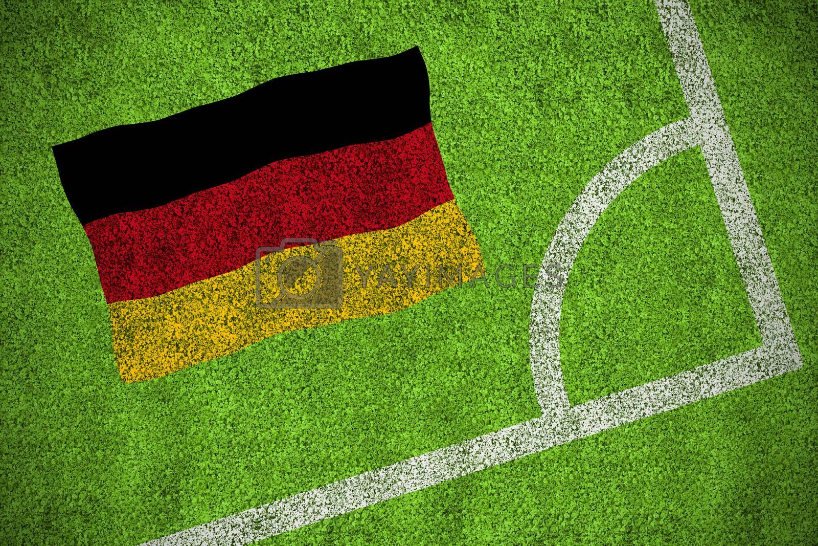 Germany national flag by Wavebreakmedia