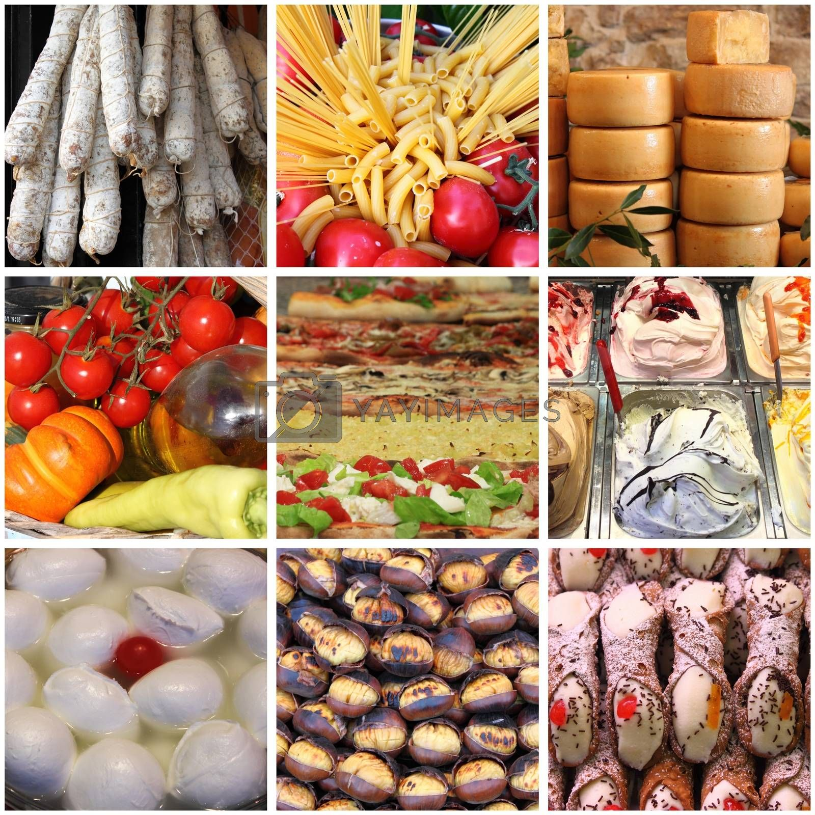 Italian food collage by alessandro0770