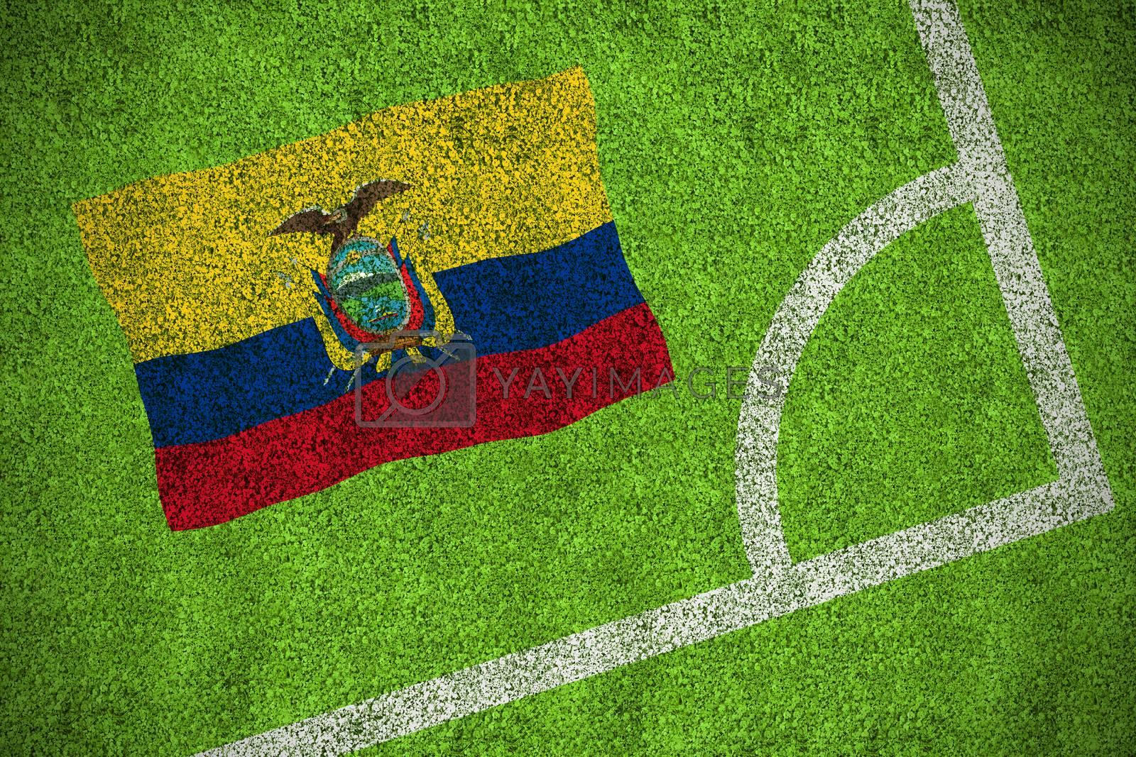 Ecuador national flag by Wavebreakmedia