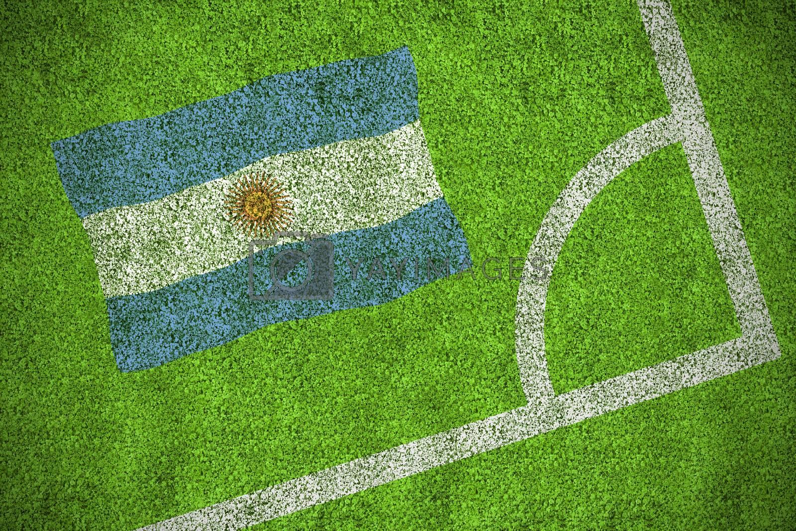 Argentina national flag by Wavebreakmedia