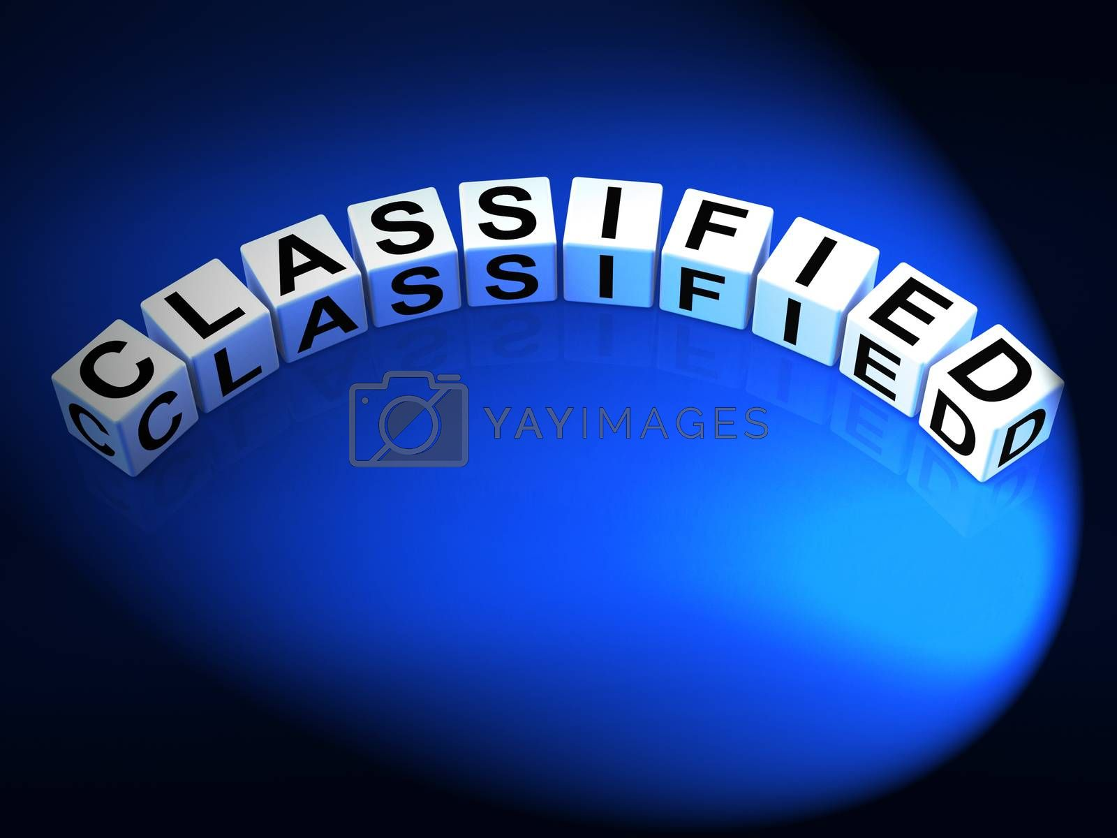 Classified Letters Show Top Secret Confidential And Restricted A by stuartmiles