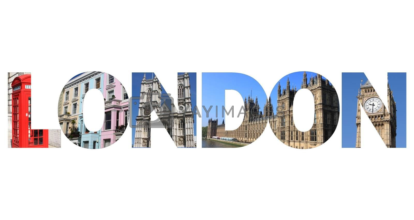 London text by alessandro0770