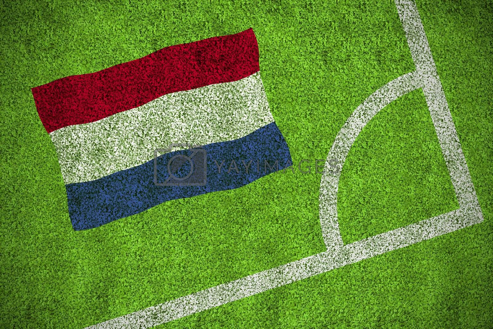Netherlands national flag by Wavebreakmedia